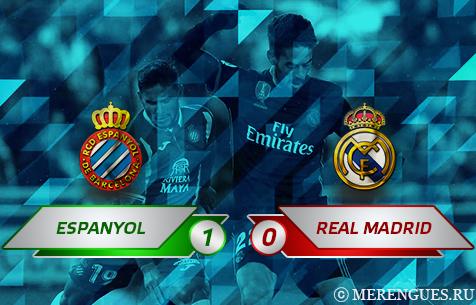 RCD Espanyol - Real Madrid C.F. 1:0