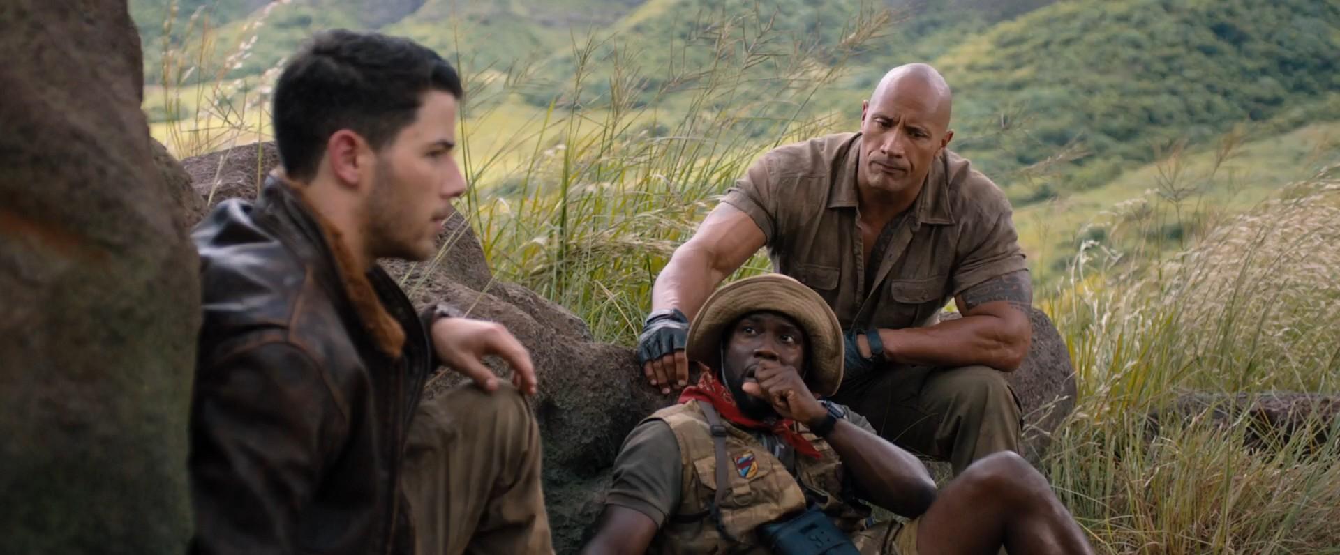 Джуманджи: Зов джунглей / Jumanji: Welcome to the Jungle (2017) WEB-DL 1080p