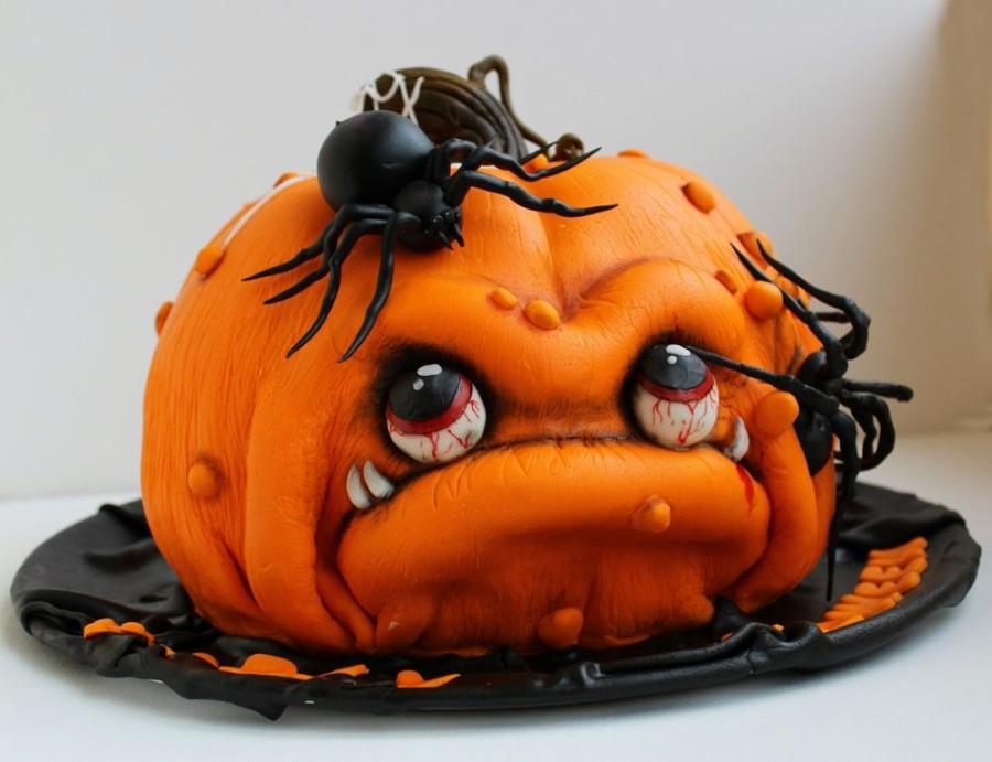 Тортик на хеллоуин