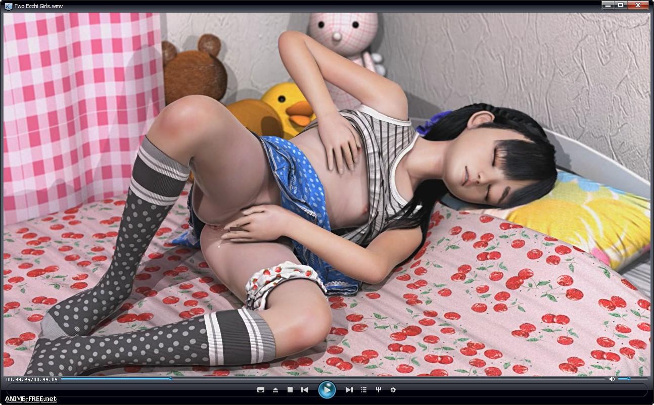 Two Ecchi Girls / Две блудницы [2016] [Cen] [RUS,JAP,CHI] [720p] 3D-Hentai
