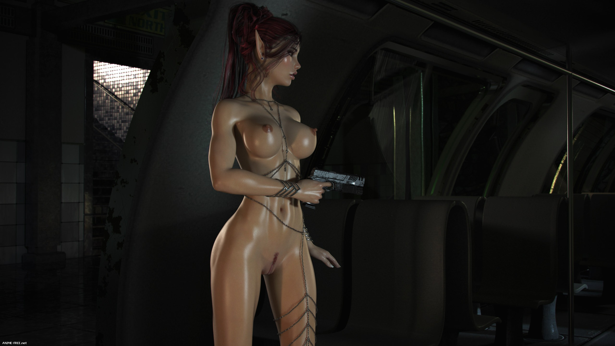 Elven Desires - Distress Signal [Uncen] [3DCG] [ENG] Porn Comics