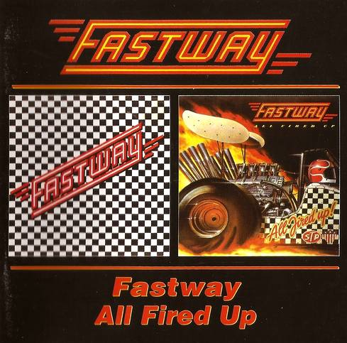 Fastway - Fastway + All Fired Up! (1991) Remastered, 2000, guitar Fast Eddie Clarke (ex - Motorhead) [FLAC|Lossless|image + .cue] <Hard Rock>
