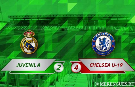 Real Madrid Juvenil A - Chelsea F.C. U-19 2:4