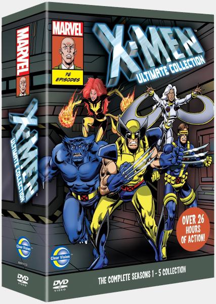 Люди Икс / X-Men: The Animated Series / Сезоны: 1-5 / Серии: 1-76 из 76 (Ларри Хьюстон / Larry Houston) [1992-1997, фантастика, боевик, DVDRip-AVC] Dub (СТС) + MVO (Ren-TV) + 2xAVO (Кашкин/Первомайский, Дольский) + Original