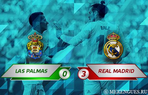 UD Las Palmas - Real Madrid C.F. 0:3
