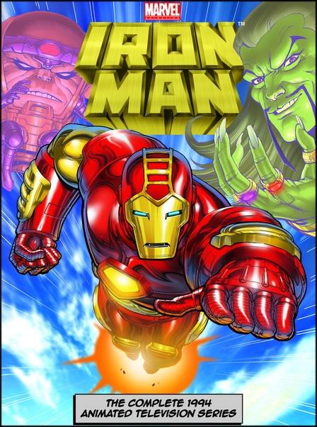 Железный Человек / Iron Man: The Animated Series / Сезоны: 1-2 / Серии: 1-26 из 26 (Джордж Джонсон / George Johnson) [1994-1996, фантастика, боевик, приключения, DVDRip-AVC] Dub