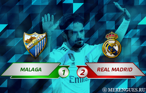Malaga C.F. - Real Madrid C.F. 1:2