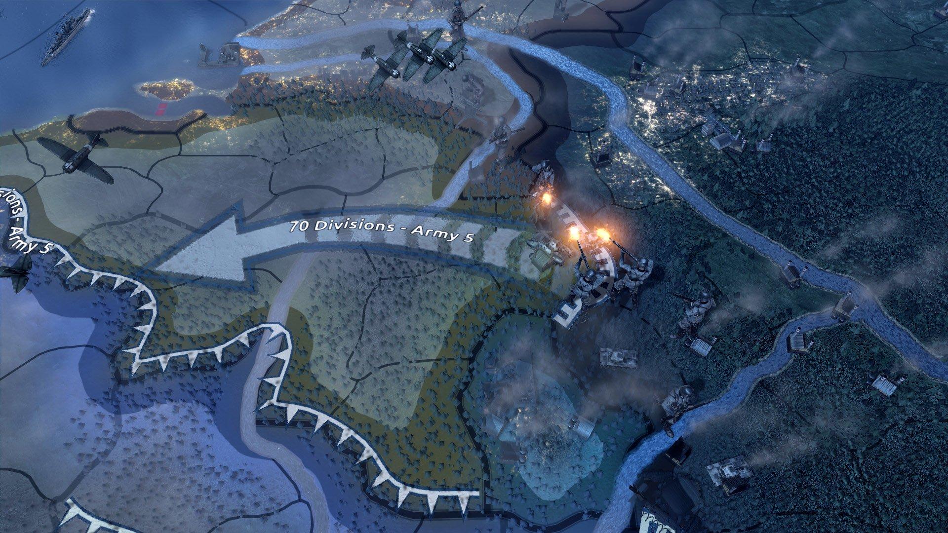Hearts of Iron IV: Field Marshal Edition [v 1.5.3 + DLC's] (2016) PC