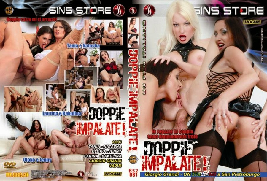 Doppie Impalate! / Double Impale / Двойной ход (Giorgio Grandi / Sins Store / Sex B52) [2010 г., 18+ Teens, Anal, Cum swapping, DP, Group, Russian Girls, Swallow, DVDRip] Angela, Jenny Simpson, Inus, Natali, Oksana