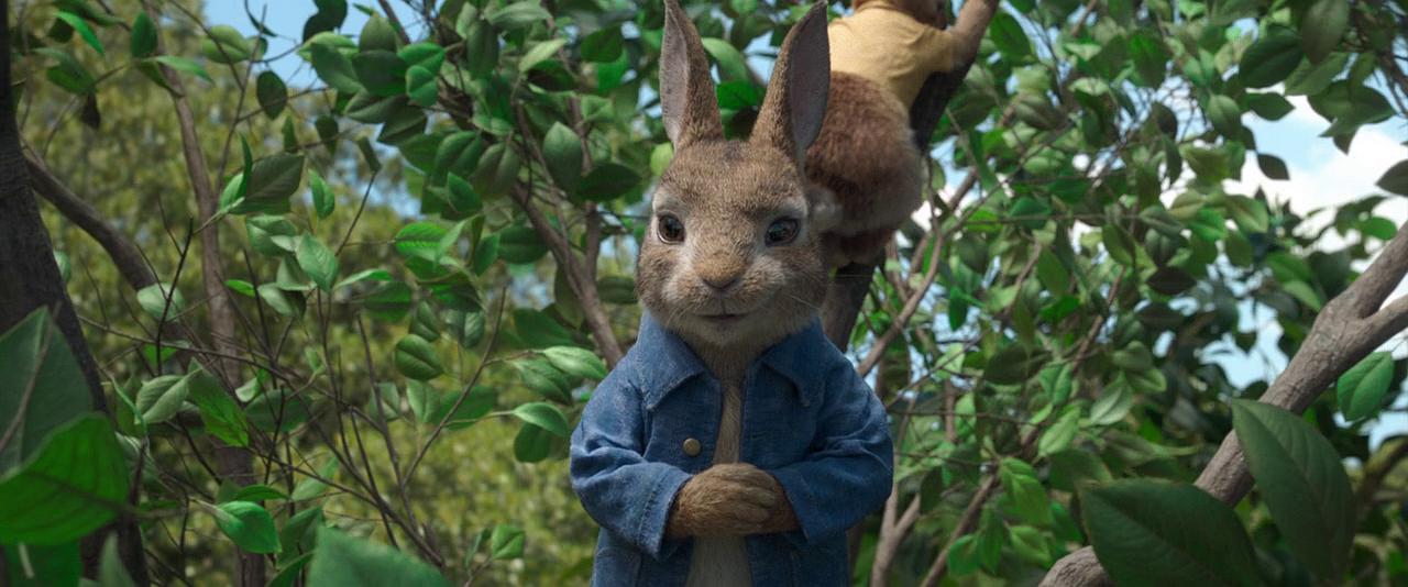 Кролик Питер / Peter Rabbit (2018) BDRip 720p | Лицензия