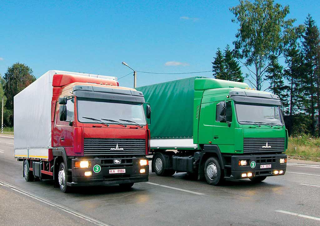 грузовики МАЗ