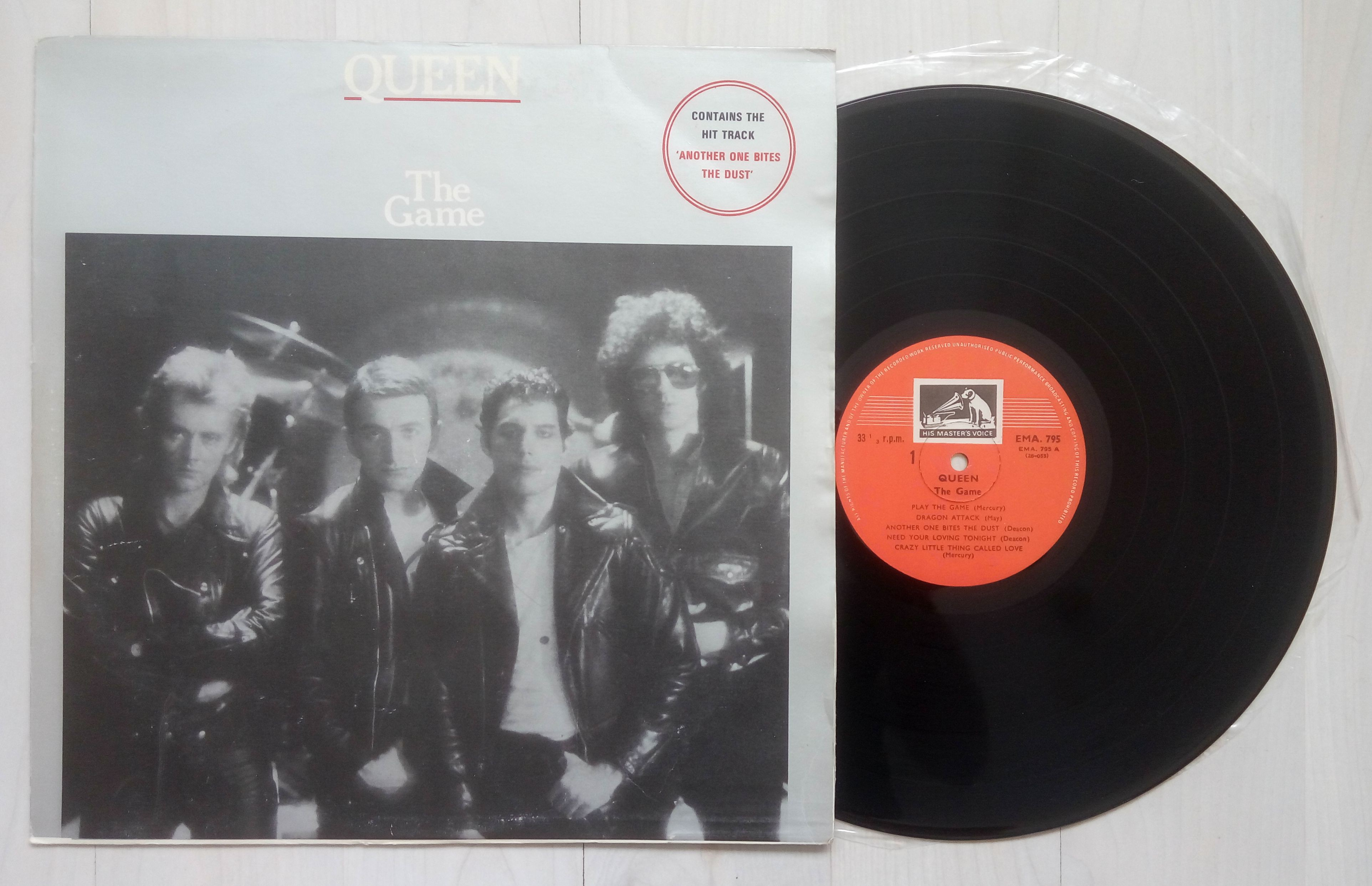 QUEEN - The Game (his Masters Voice Label, Perfect Mint Vinyl, Very Good Cover, No Split Seams, No Writings,