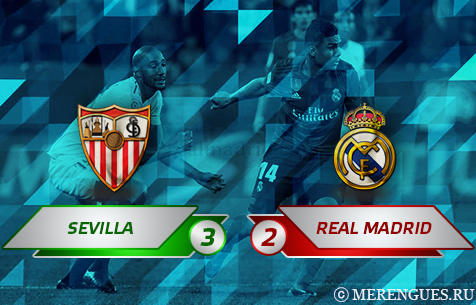 Sevilla FC - Real Madrid C.F. 3:2