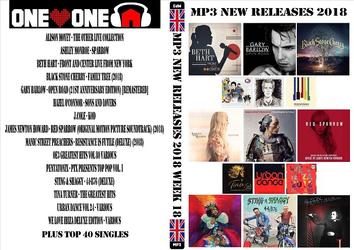 MP3 NEW RELEASES 2018 WEEK 18