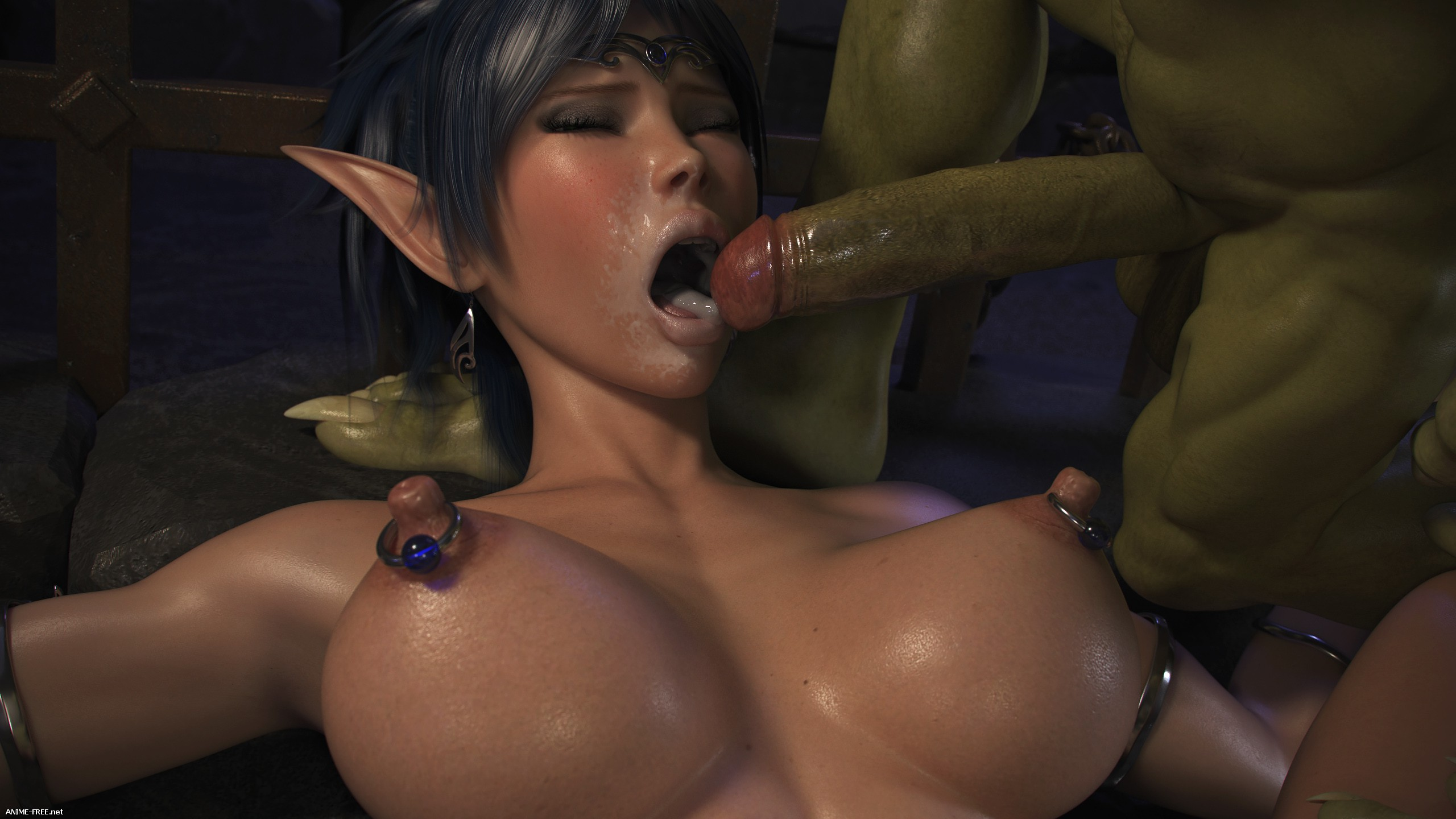 Elven Desires - Dungeon Origins [Uncen] [3DCG] [ENG] Porn Comics