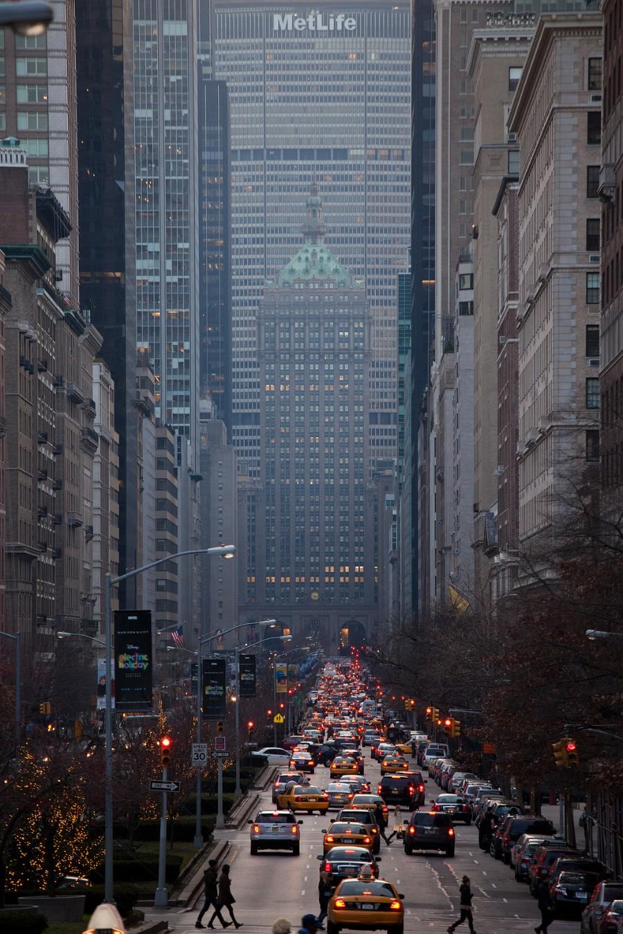 Пейзажи Нью-Йорка