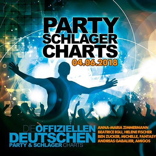 VA - German Top 50 Party Schlager Charts 04.06.2018 (2018)