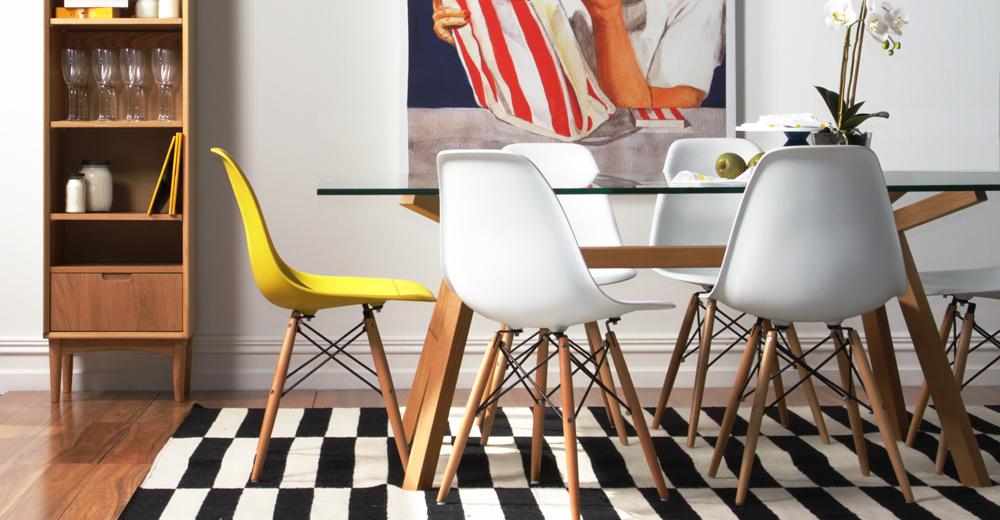 Стулья Eames Style: привычные предметы интерьера как произведения искусства