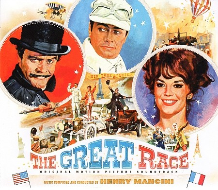 (Score) Большие гонки / The Great Race (by Henry Mancini) [3 CD-set] - 2017 (1965), FLAC (tracks+.cue), lossless