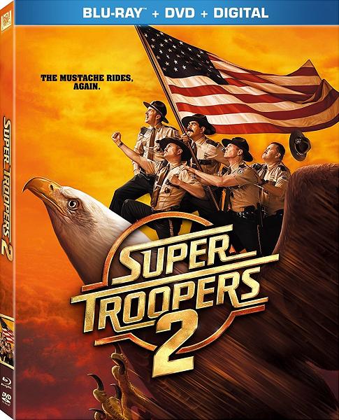 ���������������� 2 / Super Troopers 2 (2018) BDRip 1080p   iTunes