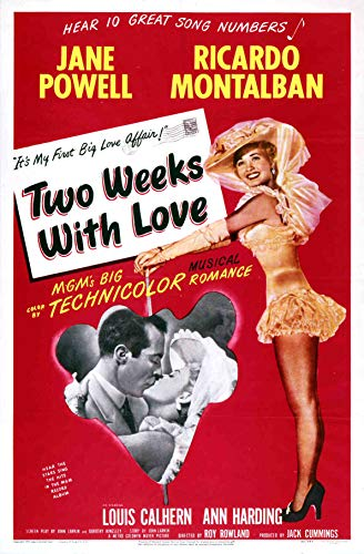 Две недели с любовью / Two Weeks with Love (Рой Роулэнд / Roy Rowland) [1950, США, мюзикл, мелодрама, комедия, DVD9 (Custom)] VO (Игорь Клушин) + Sub Rus + Original Eng + Sub Eng + Sub Fre