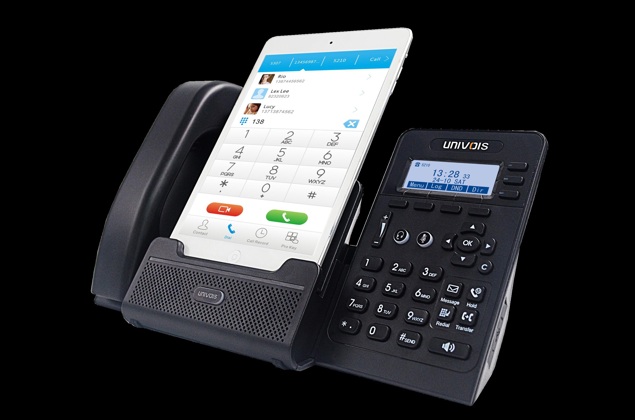 IP-телефоны Univois – удобные средства связи с расширенным функционалом