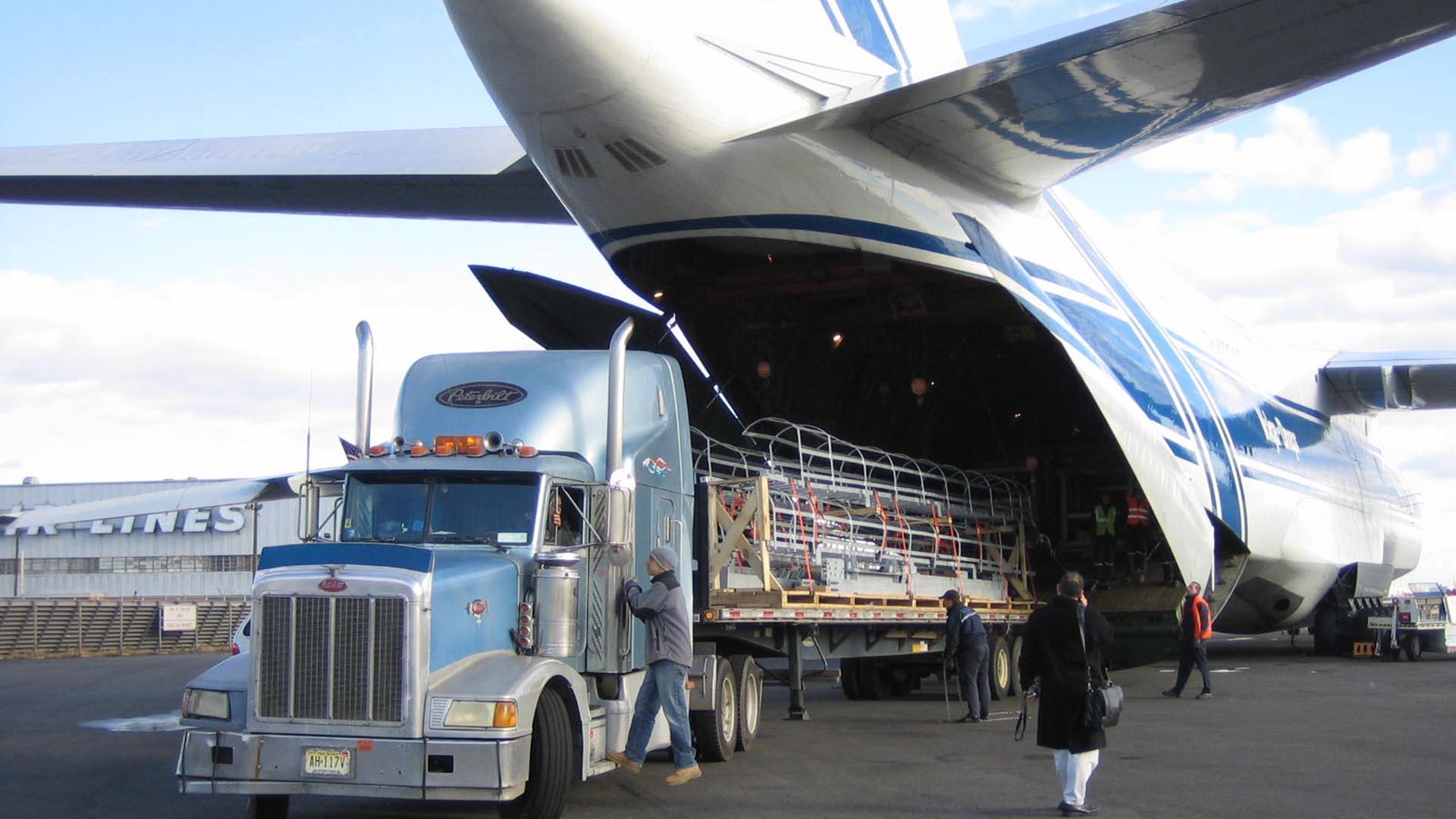 Перевозка груза при помощи авиации