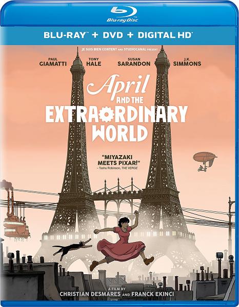 Аврил и поддельный мир / Avril et le monde truqué (2015) HDRip   P