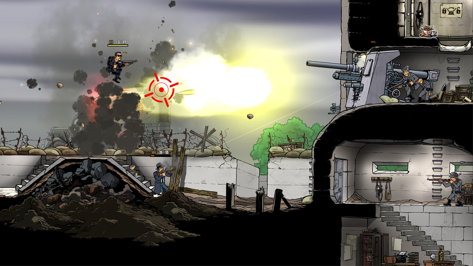 Guns, Gore & Cannoli 2 (2018/PC/Русский), RePack от xatab