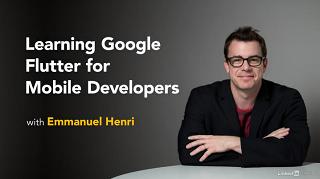 Lynda - Learning Google Flutter for Mobile Developers [2018, ENG