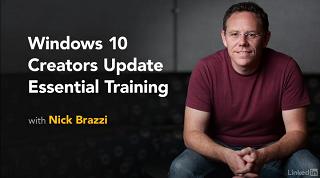 [Lynda.com / Nick Brazzi] Windows 10 Creators Update Essential Training (2017) [2017, ENG]