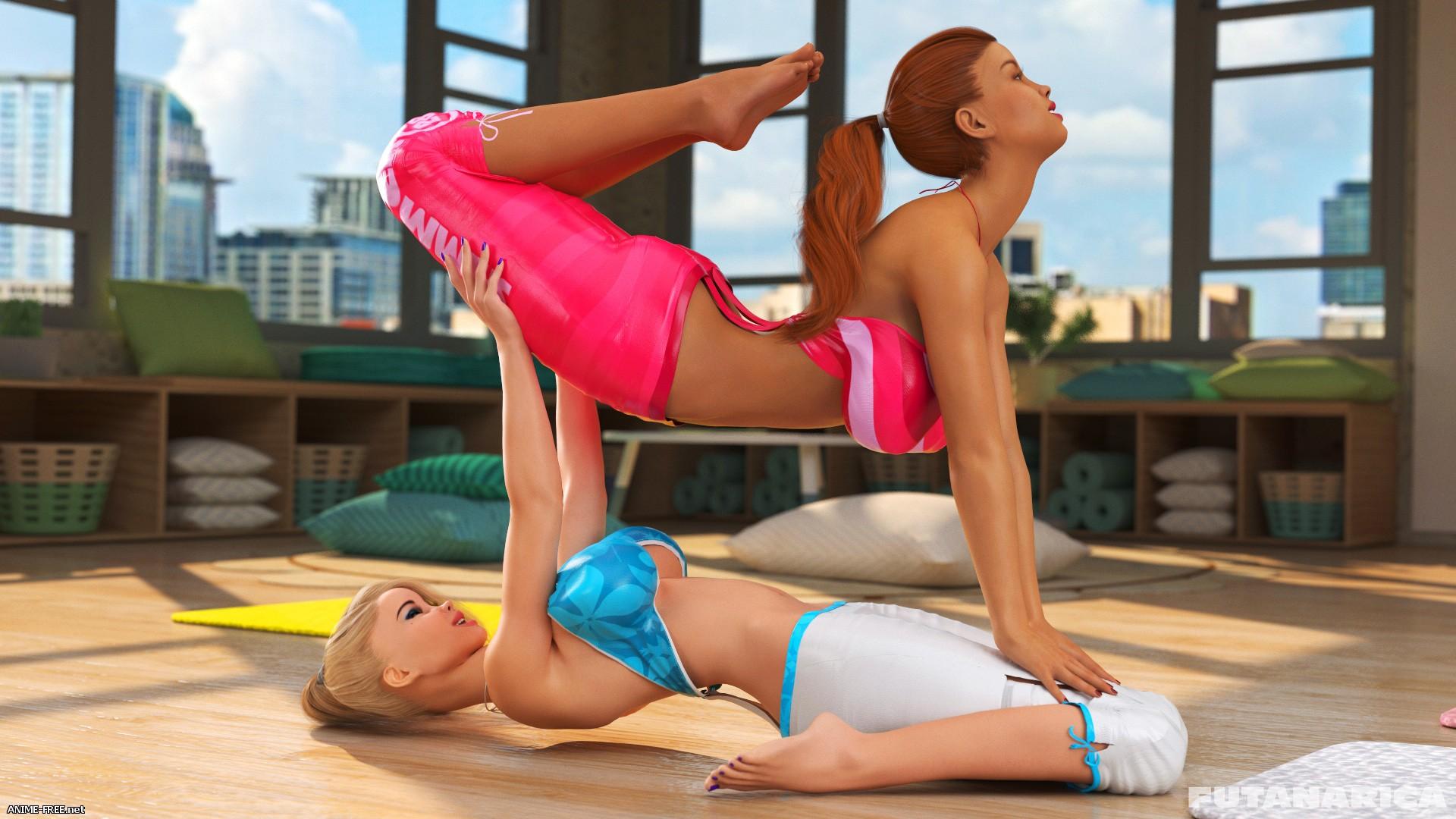 Yoga Class / Класс йоги [Uncen] [3DCG] [ENG] Porn Comics