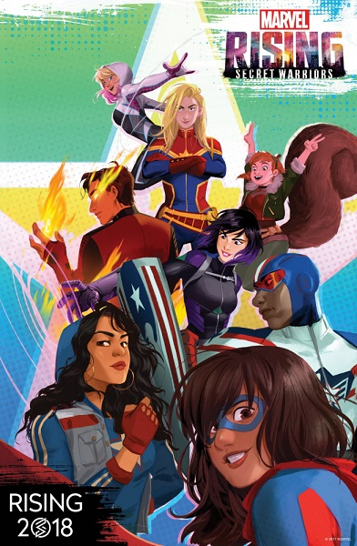 Восход Marvel: Тайные воины / Marvel Rising: Secret Warriors [01x01 из 10] (2018) WEBRip 720p | ColdFilm
