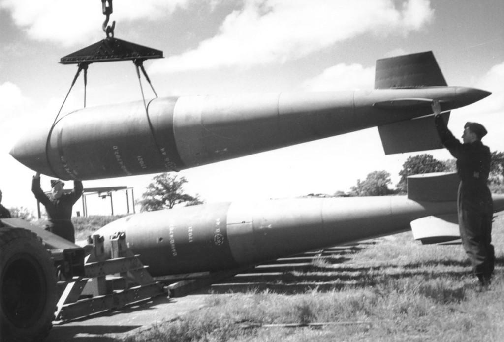 Сейсмическая бомба. Tallboy.