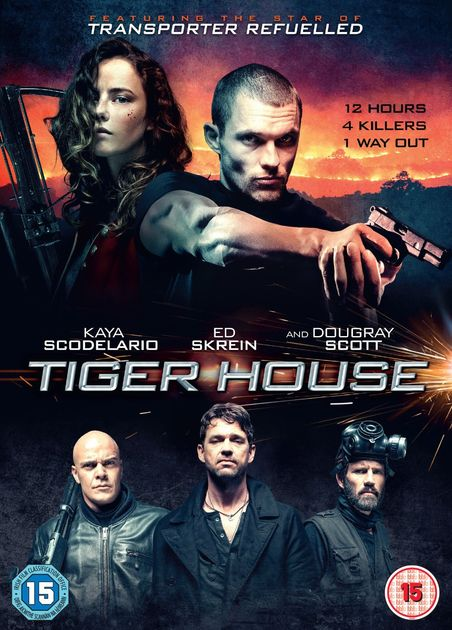 Дом тигра / Tiger House (2015) BDRip [H.265/1080p-LQ] [10-bit] [VO]