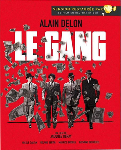 Банда / Le Gang (Жак Дере / Jacques Deray) [1977, Франция, драма, криминал, BDRip 720p] 3x MVO + Sub Eng + Original Fra