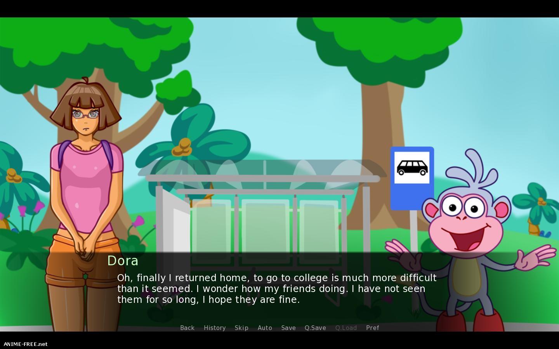 Dark Forest Stories Dora The Explorer / Сказки темного леса: Даша путешественница [2018] [Uncen] [ADV, 2DCG] [ENG,RUS] H-Game