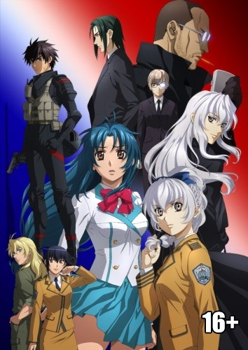 Fullmetal Panic! Invisible Victory | Full Metal Panic! Invisible Victory | Стальная тревога! IV [2018, TV, 12 эп.] BDrip 1080p raw