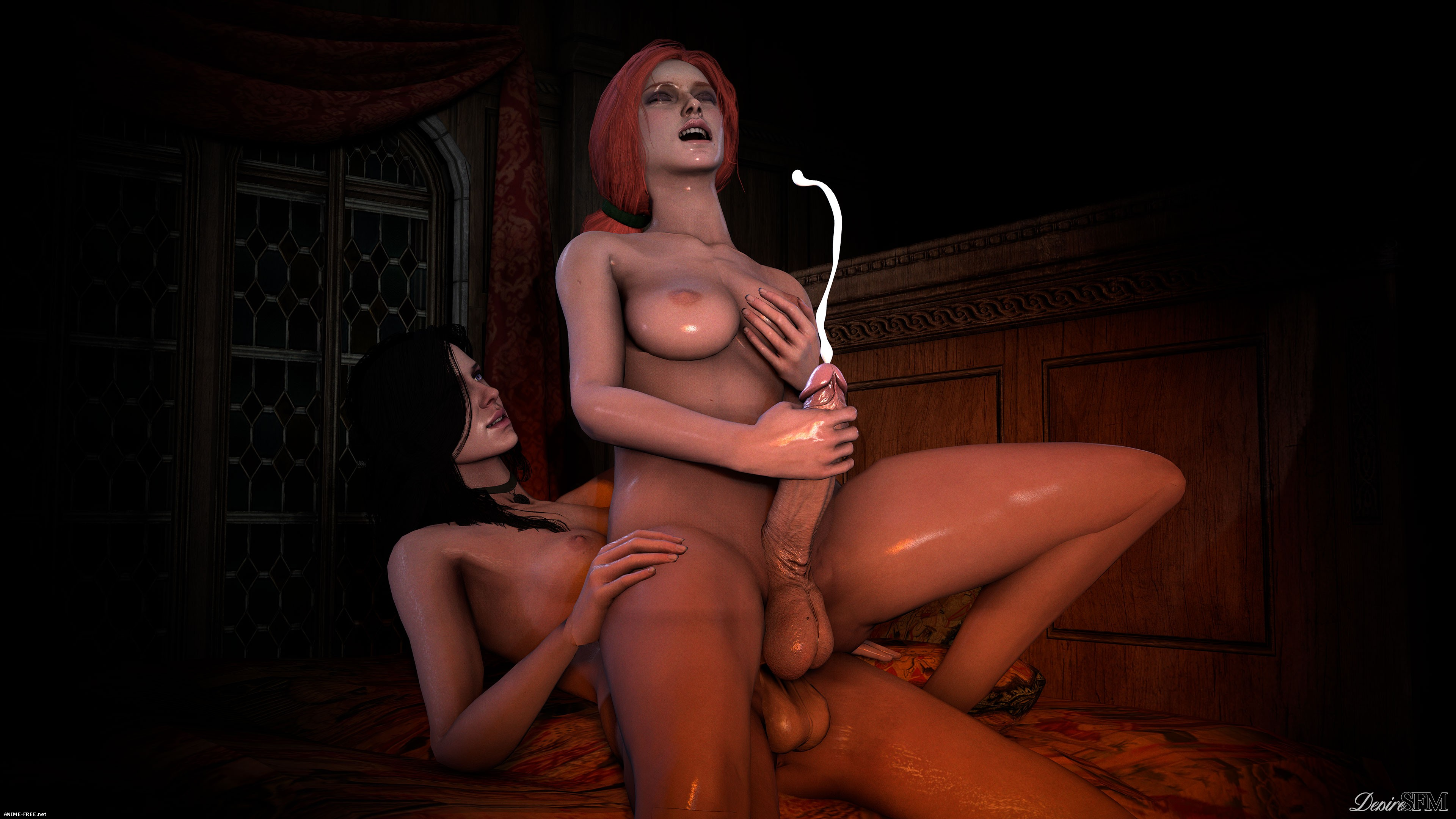 DesireSFM Picures (ArtWork Collection) - Сборник арта [3DCG] [Uncen] [JPG] Hentai ART