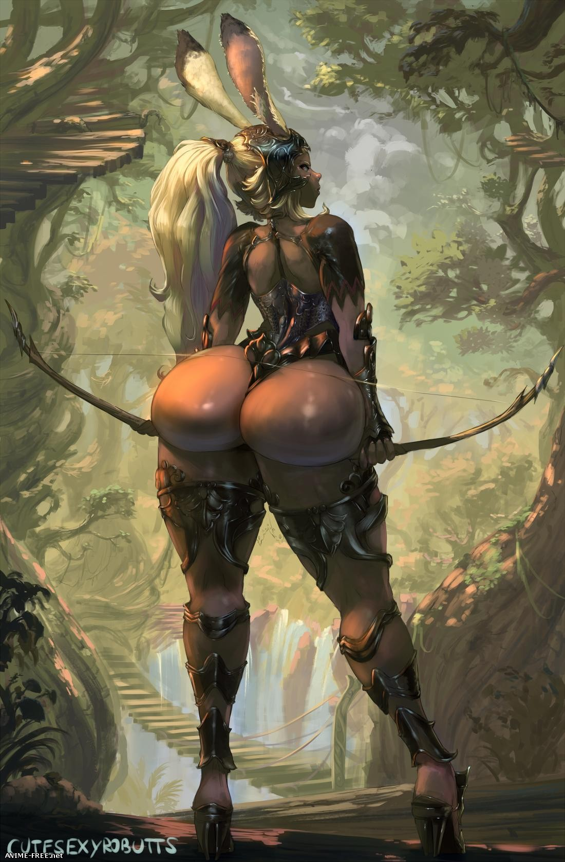 CuteSexyRoButts (ArtWork Collection) [Uncen] [JPG,PNG] Hentai ART