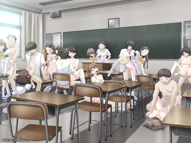 Jugyou de Ecchi?~Hisshuu Kamoku wa Sai Kyo-iku! Sensei ya Doukyuusei to Aheahe Peropero Benkyou Chuu~ [2011] [Cen] [VN] [JAP] H-Game