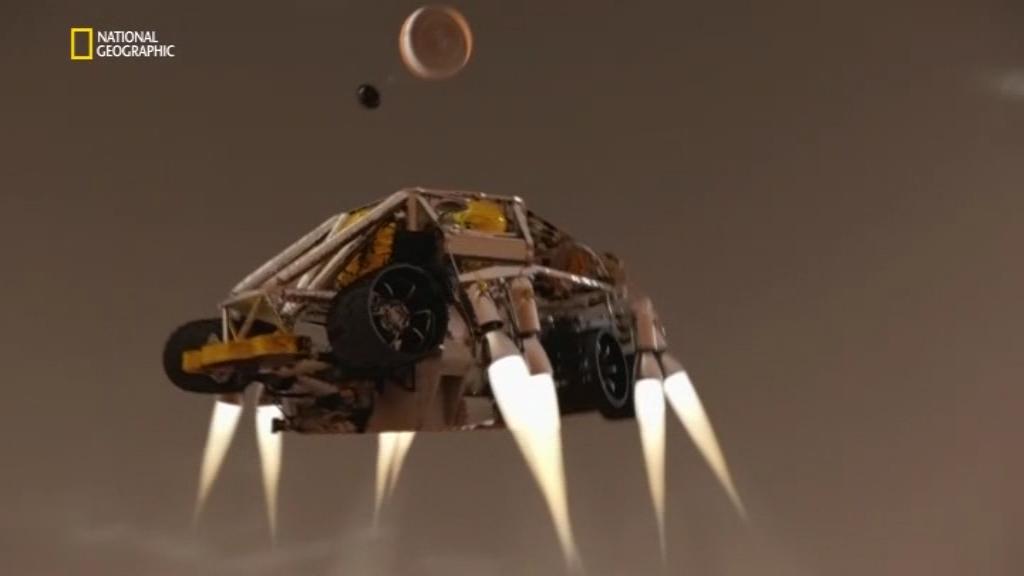 Марсоход Curiosity / Curiosity. Life of a Mars Rover (2018/DVB)