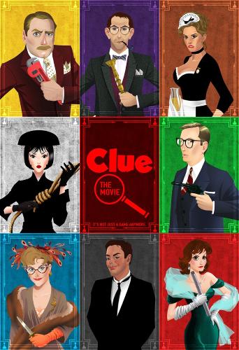 Улика / Разгадка / Clue (1985) HDTV 1080i