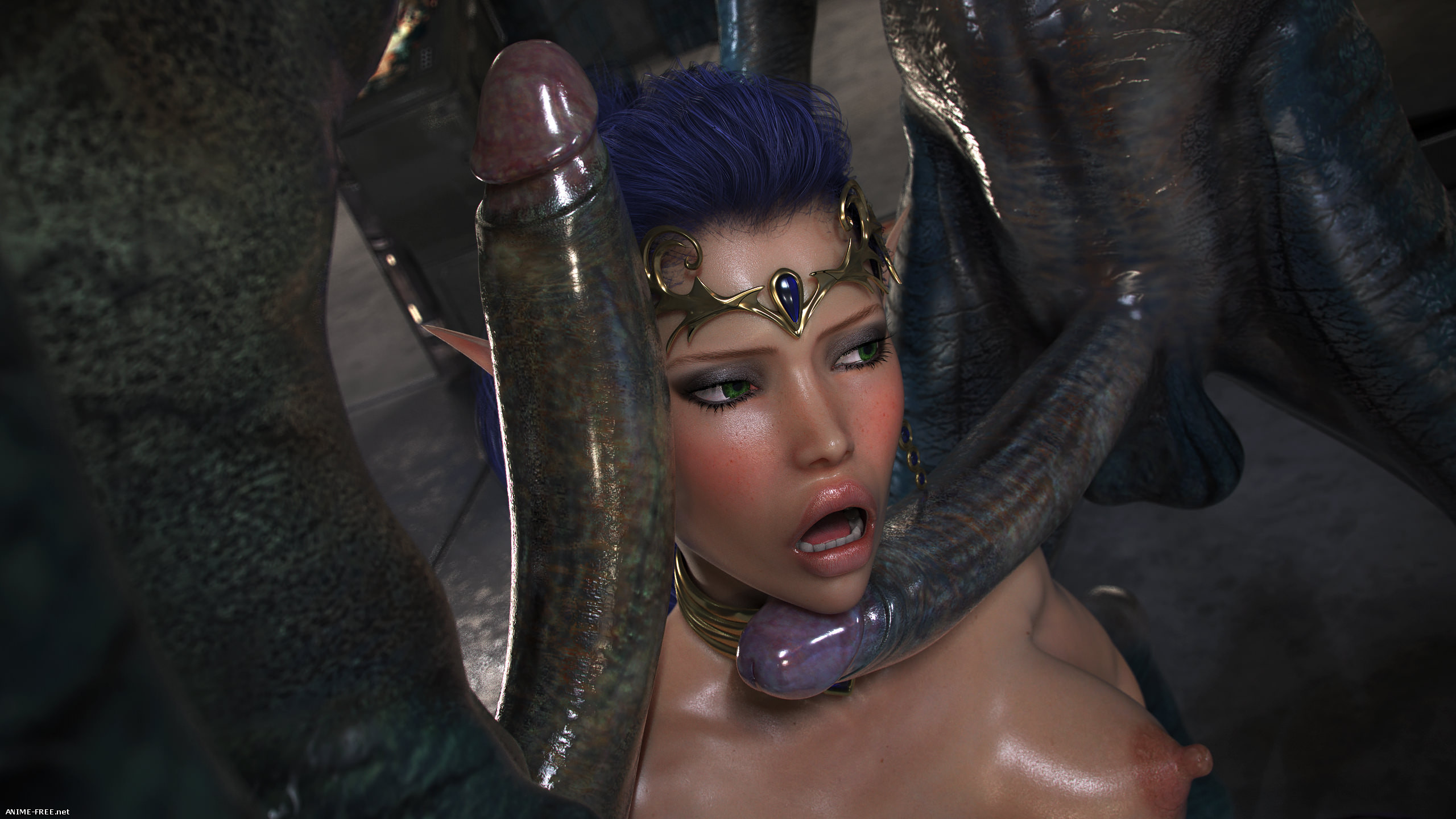 Elven Desires - Distress Signal 3 [3DCG] [Uncen] [No-Text] Porn Comics