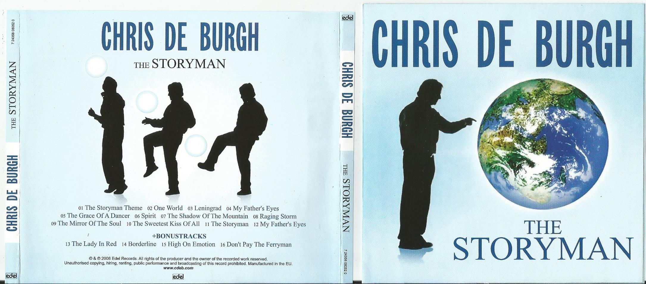 BURGH, CHRIS DE The Storyman + 4bonus trk