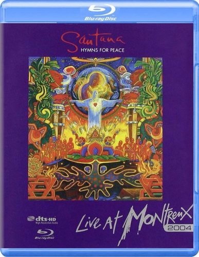 download Santana: Hymns For Peace - Live At Montreux (2008, Blu-Ray)