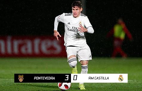 Pontevedra CF - Real Madrid Castilla 3:0