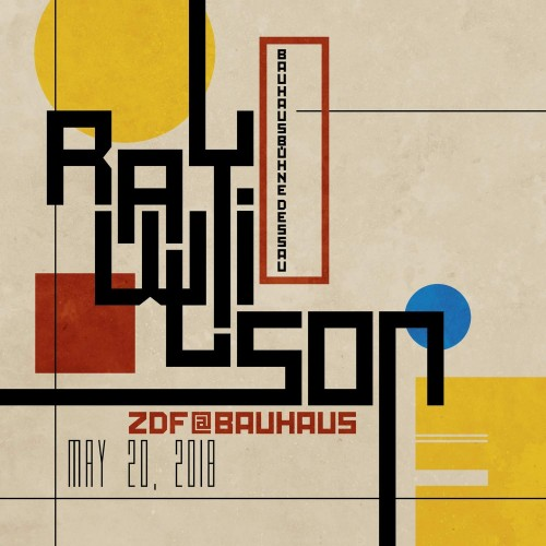 Ray Wilson - ZDF at Bauhaus (2018, Blu-ray)
