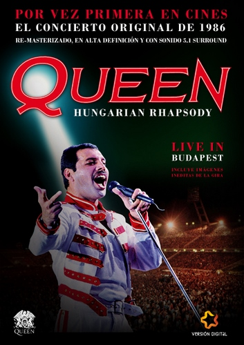 Queen - Hungarian Rhapsody Live in Budapest (1986, DVDRip)