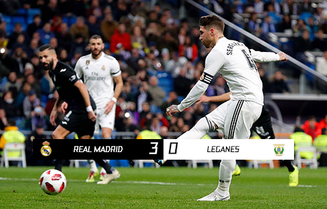 Real Madrid C.F. - CD Leganes 3:0
